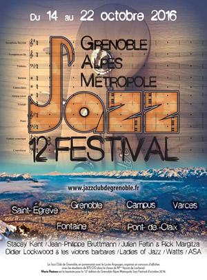 Début du 12ème Grenoble Alpes Métropole Jazz festival