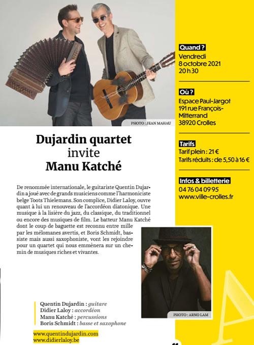 Dujardin-Manu Katche