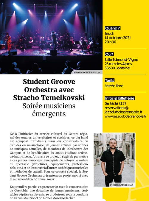 Student Groove Orchestra