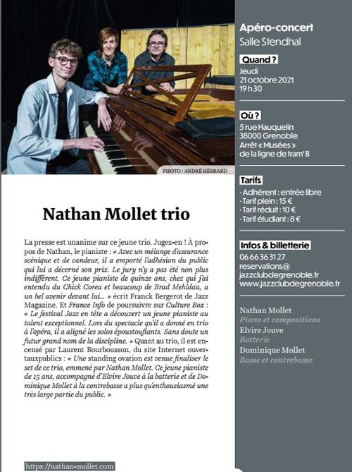 Nathan Mollet Trio